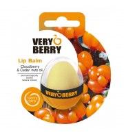 Very Berry, Balsam do ust z Maliną Moroszką i olejkiem Cedrowym, 11,5 g
