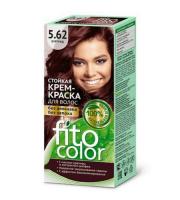 Fitokosmetik, Fito Color - Trwała FARBA do włosów w kremie 5.62 BURGUND