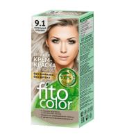 Fitokosmetik, Fito Color - Trwała FARBA do włosów w kremie 9.1 BLOND POPIELATY
