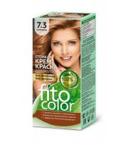 Fitokosmetik, Fito Color - Trwała FARBA do włosów w kremie 7.3 KARMEL
