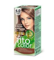 Fitokosmetik, Fito Color - Trwała FARBA do włosów w kremie 6.0 NATURALNY JASNY BRĄZ