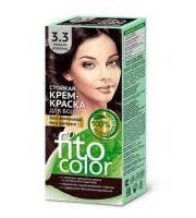 Fitokosmetik, Fito Color - Trwała FARBA do włosów w kremie 3.3 GORZKA CZEKOLADA