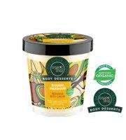 Organic Shop, Body Desserts BANANA MILKSHAKE – odbudowujący krem do ciała, 450 ml