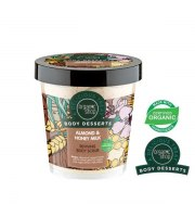 Organic Shop, Body Desserts ALMOND & HONEY – odżywczy mus do ciała, 450 ml