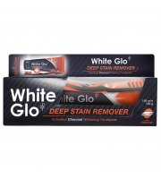 WHITE GLO, CHARCOAL DEEP STAIN REMOVER PASTA DO ZĘBÓW 100ML