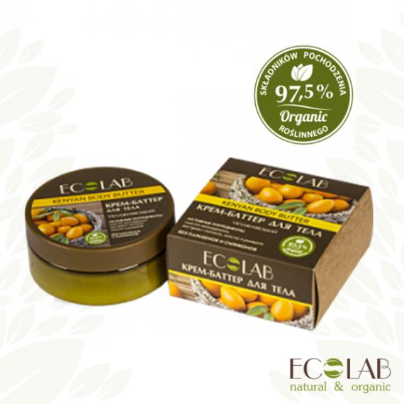 ECOLAB, Kenijskie masło do ciała – nawilżające, 150 ml