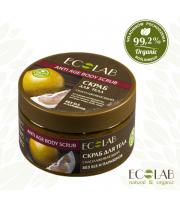 ECOLAB, Cukrowy scrub do ciała – odmładzający - ANTI AGE, 150 ml