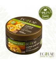 ECOLAB, Cukrowy scrub do ciała– detox, 250 ml