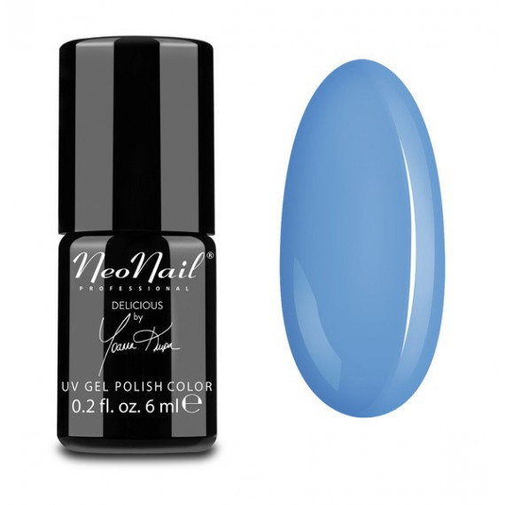 NeoNail, LAKIER HYBRYDOWY, 5639-1 BLUE CREAM JELLY, 6 ML