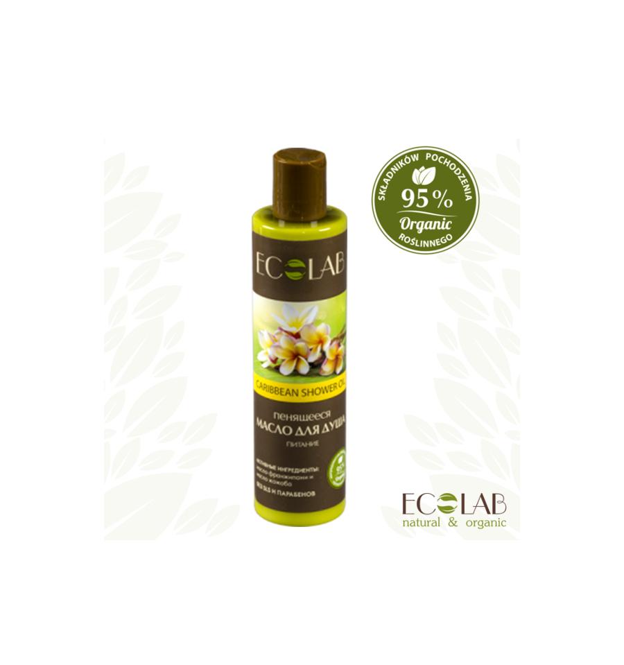 ECOLAB, Karaibski olej pod prysznic – odżywczy, 250 ml