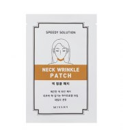 MISSHA, SPEEDY SOLUTION NECK WRINKLE PATCH MASECZKA NA SZYJĘ