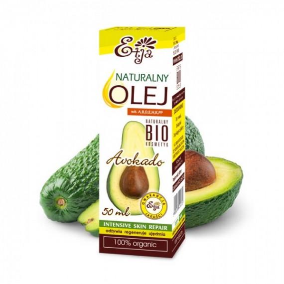 Etja, Olej awokado Bio, 50ml