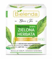 Bielenda, Zielona herbata, Regulujący krem na noc, 50ml