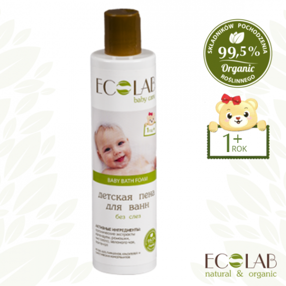ECOLAB BABY CARE, Płyn do kąpieli dla dzieci od 1+, 250 ml