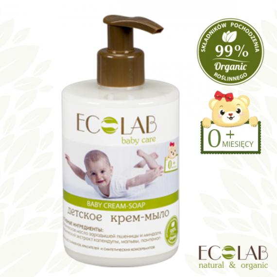 ECOLAB BABY CARE, Krem - mydło dla dzieci od 0+, 300 ml