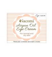 Nacomi, Krem naturalny pod oczy arganowy, 15 ml