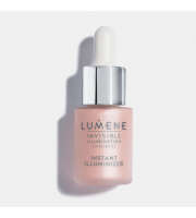 Lumene, Rosy, Dawn Rozświetlacz z serum Invisible Illumination, 15 ml