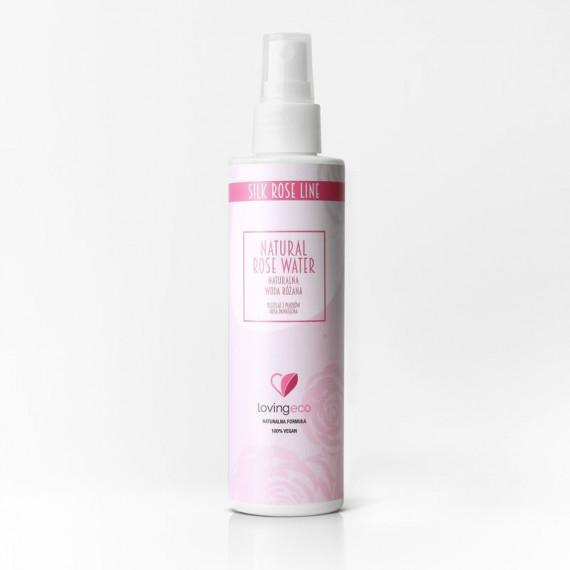 Lovingeco, Woda różana, 200 ml