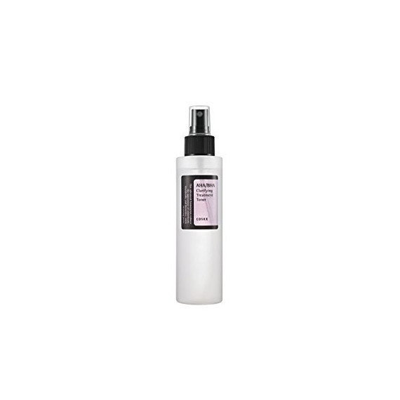 COSRX, AHA/BHA Clarifying Treatment Toner, Tonik do twarzy z naturalnymi kwasami AHA i BHA, 150 ml