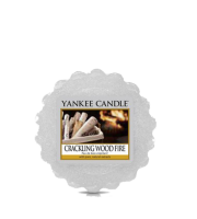 Yankee Candle, CRACKLING WOOD FIRE, wosk