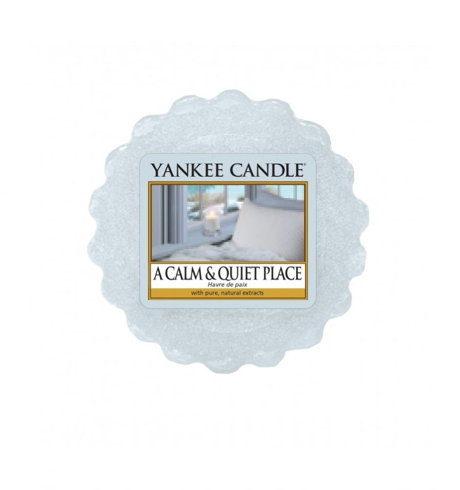 Yankee Candle, A CALM & QUIET PLACE, wosk