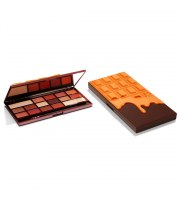 Makeup Revolution, Chocolate Orange, Paleta cieni, 22g