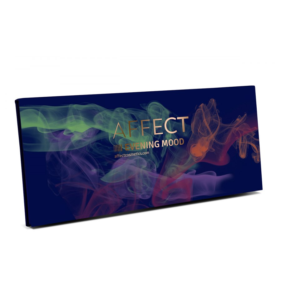 Affect, Paleta cieni prasowanych EVENING MOOD, 25g