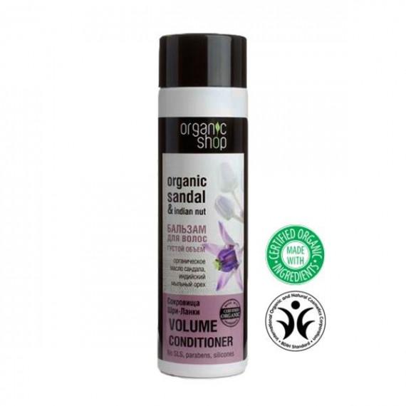 """Organic shop, balsam do włosów OBJĘTOŚĆ """"SKARBY SRI LANKI"""", 280ml"""