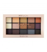 Makeup Revolution, Cień 15 my sing palette earth