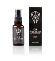Masveri, Olejek do twarzy i brody - skóra sucha i wrażliwa, 30 ml