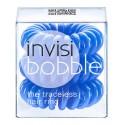 Invisibobble, Gumki do włosów 3 szt., Navy Blue - niebieskie