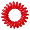 Invisibobble, Gumki do włosów 3 szt., Raspberry Red - czerwone