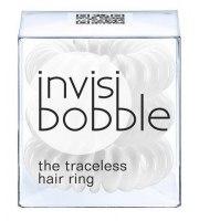 Invisibobble, Gumki do włosów 3 szt., Innocent White - białe