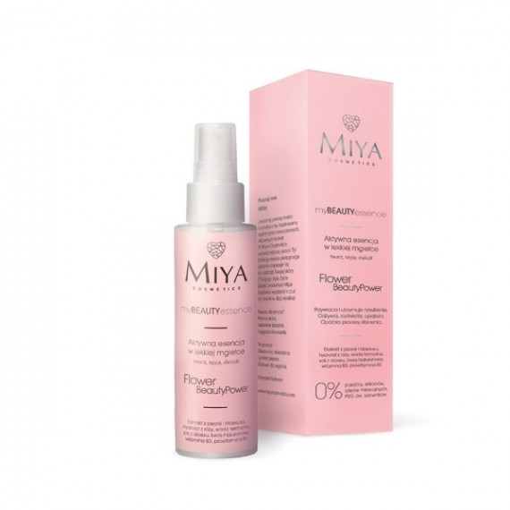 Miya Cosmetics, myBEAUTYessence, FLOWER BeautyPower, 100 ml