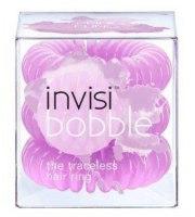 Invisibobble, Gumki do włosów 3 szt., SPRING FLING - pastelowa liliowa