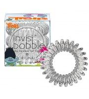 Invisibobble, Gumka do włosów 1 szt., TROLLS - przezroczyste z brokatem