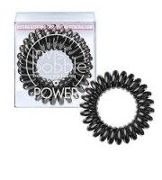 Invisibobble, POWER Gumki do włosów 3 szt., TRUE BLACK - czarne