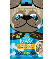 Bielenda, Crazy mask MOPS, nawilżająca maseczka do twarzy