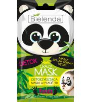 Bielenda, Crazy mask PANDA, nawilżająca maseczka do twarzy