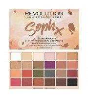 Makeup Revolution, Paleta cieni SOPH X, 24x1.1g