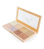 Makeup Revolution, Paleta rozświetlaczy SOPH X, 8x2g