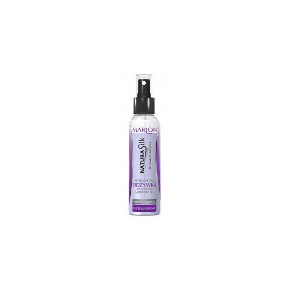 Marion, Natura Silk, Błyskawiczna odżywka do włosów FARBOWANYCH, 150ml
