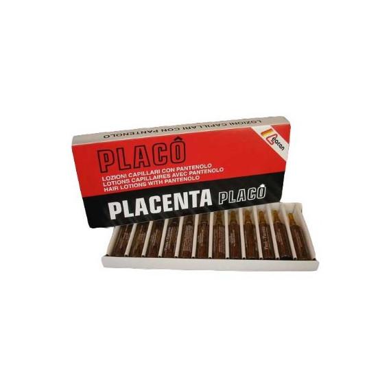 Placenta Placo, Ampułki na porost włosów, 12x10 ml