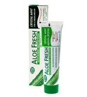Aloe Fresh, Żelowa pasta do zębów CRYSTAL MINT, 100 ml