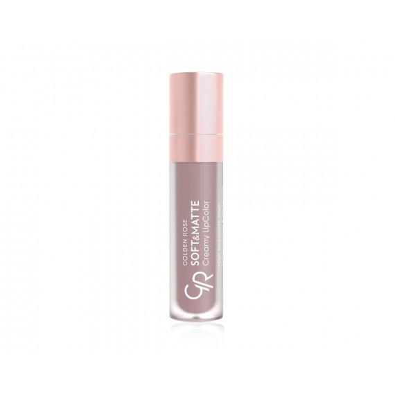 Golden Rose, Soft&Matte Creamy Lip Color, Matowa płynna pomadka do ust, 101, 5.5 ml