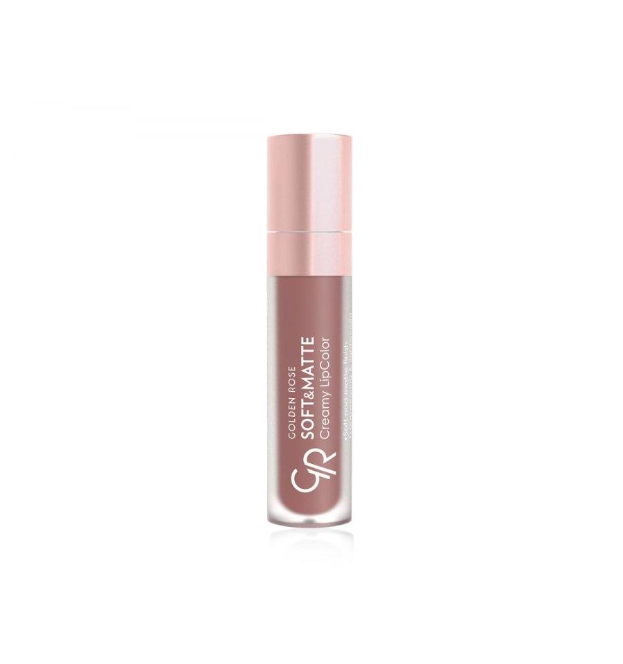 Golden Rose, Soft&Matte Creamy Lip Color, Matowa płynna pomadka do ust, 107, 5.5 ml