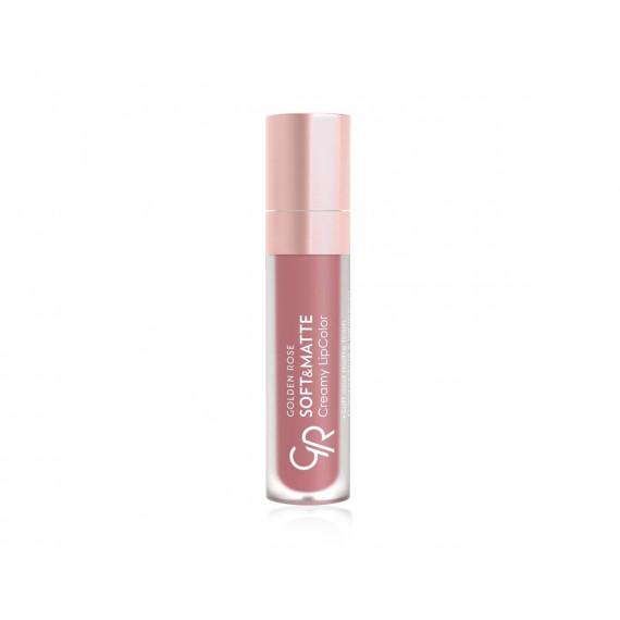 Golden Rose, Soft&Matte Creamy Lip Color, Matowa płynna pomadka do ust, 108, 5.5 ml