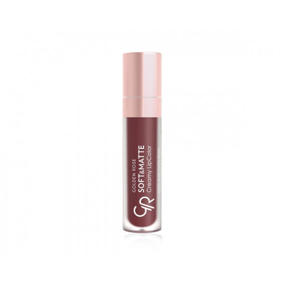 Golden Rose, Soft&Matte Creamy Lip Color, Matowa płynna pomadka do ust, 117, 5.5 ml