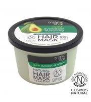 Organic Shop, Regeneracyjna maska do włosów AVOCADO&HONEY, 250 ml