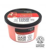 Organic Shop, Wzmacniająca maska do włosów POMEGRANATE&PATCHOULI, 250 ml